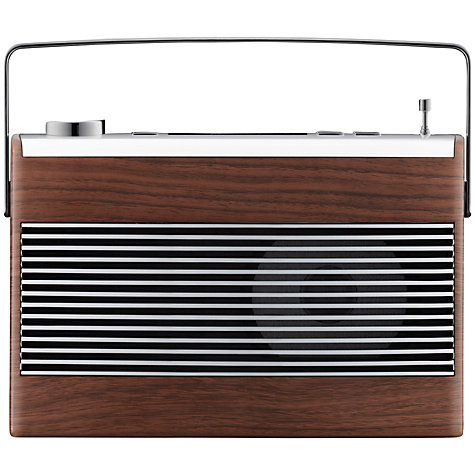 Buy John Lewis Aston DAB/FM Radio, Walnut Online at johnlewis.com