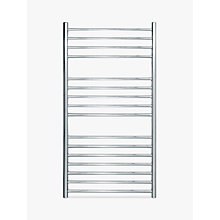 Buy John Lewis Osborne Dual Fuel Heated Towel Rail and Valves, from the Wall Online at johnlewis.com