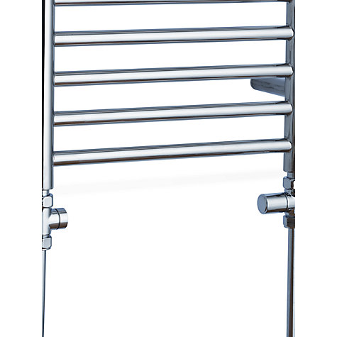 buy john lewis priory central heated towel rail and valves. Black Bedroom Furniture Sets. Home Design Ideas