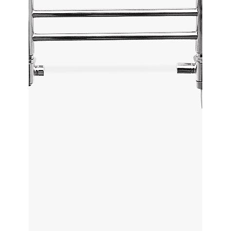 buy john lewis seagrove dual fuel heated towel rail and. Black Bedroom Furniture Sets. Home Design Ideas