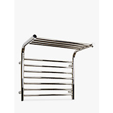 Buy John Lewis Lunan Dual Fuel Heated Towel Rail and Valves, from the Wall Online at johnlewis.com