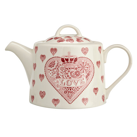 Buy Queens Made With Love Teapot Online at johnlewis.com