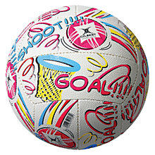 Buy Gilbert GOAL Supporter Netball Online at johnlewis.com