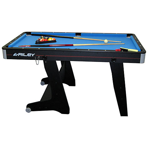 Buy Riley 5' Vertical Folding Pool Table Online at johnlewis.com