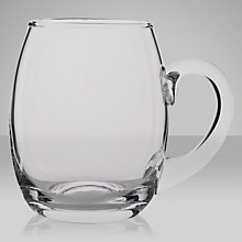 Buy LSA Bar Beer Tankard, 0.5L, Clear Online at johnlewis.com