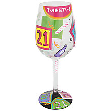 Buy Lolita 21 Wine Glass, 0.45L, Multi Online at johnlewis.com