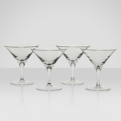 LSA International Bar Collection Martini Glasses, Set of 4