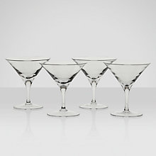 Buy LSA Bar Martini Glasses, 0.18L, Set of 4 Online at johnlewis.com