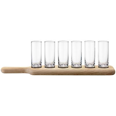 LSA International Paddle Vodka Set