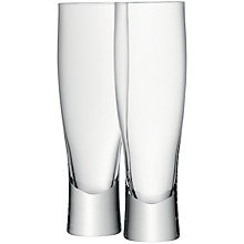 Buy LSA International Bar Collection Lager Glass, Set of 2 Online at johnlewis.com