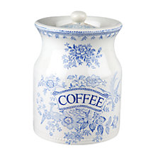 Buy Burleigh Asiatic Pheasants Coffee Storage Jar Online at johnlewis.com