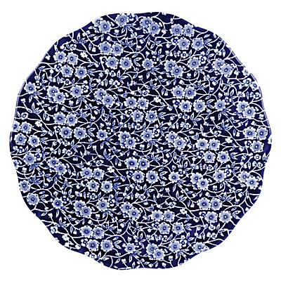 Burleigh Blue Calico Cake Plate