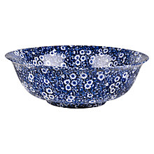 Buy Burleigh Blue Calico Fruit Bowl Online at johnlewis.com
