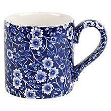 Buy Burleigh Blue Calico Mug Online at johnlewis.com