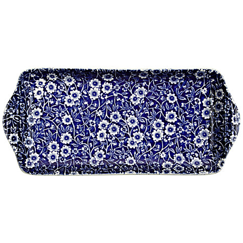 Buy Burleigh Blue Calico Sandwich Tray Online at johnlewis.com
