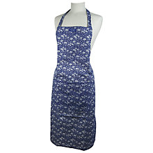 Buy Burleigh Blue Calico Apron Online at johnlewis.com