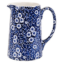 Buy Burleigh Blue Calico Tankard Jug Online at johnlewis.com