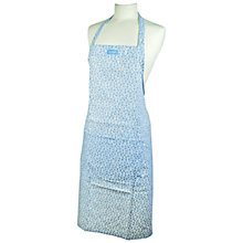 Buy Burleigh Felicity Apron, L55 x W40cm, Blue/ White Online at johnlewis.com