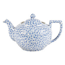 Buy Burleigh Felicity Teapot, 1L, Blue/ White Online at johnlewis.com