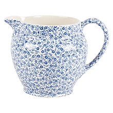 Buy Burleigh Felicity Tankard Dutch Jug, 0.29L, Blue/ White Online at johnlewis.com