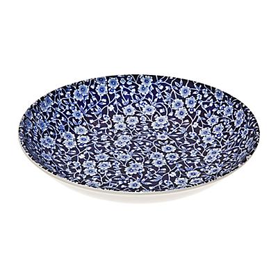 Bureligh Blue Calico Pasta Bowl