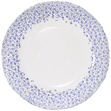 Buy Burleigh Felicity Accent Plate, Dia.21cm, Blue/ White Online at johnlewis.com