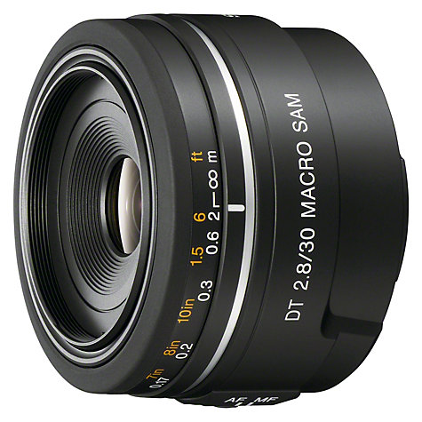 Buy Sony SAL30M28 30mm f/2.8 Macro Lens Online at johnlewis.com