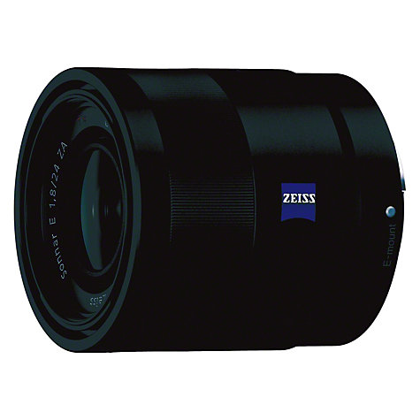 Buy Sony SEL24F18Z Sonnar T E24mm f/1.8 ZA Wide Angle Lens Online at johnlewis.com