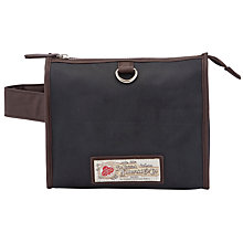 Buy JOHN LEWIS & Co. British Millerain Large Wash Bag, Navy Online at johnlewis.com