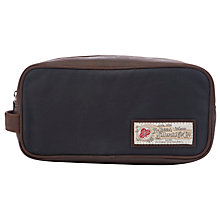 Buy JOHN LEWIS & Co. British Millerain Small Wash Bag, Navy Online at johnlewis.com