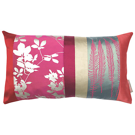 Buy Clarissa Hulse Virginia Creeper Patchwork Cushion Online at johnlewis.com