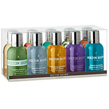 Buy Molton Brown Global Mini Travel Sized Bath and Shower Gift Set, 10 x 50ml Online at johnlewis.com