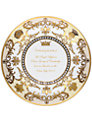 Royal Worcester Royal Baby Round Tray, Dia.13cm, Cream/ Gold