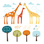 Skip Hop Safari Wall Decals