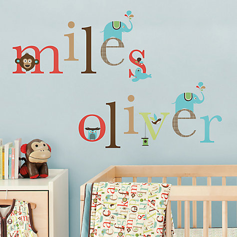 Buy Skip Hop Alphabet Zoo Wall Decals Online at johnlewis.com