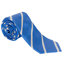 Buy John Lewis Repp Stripe Tie Online at johnlewis.com