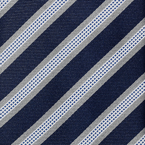 Buy John Lewis Grid Stripe Tie Online at johnlewis.com