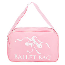 Buy Tappers and Pointers Ballet Shoulder Bag, Pink Online at johnlewis.com