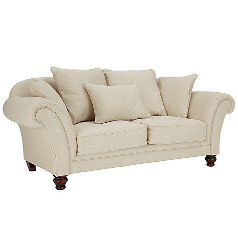 Buy John Lewis Richmond Large Sofa with Dark Legs, Tyler Putty Online at johnlewis.com
