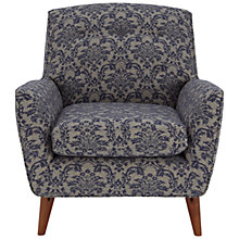 Buy John Lewis Battersea Armchair, Somerset Blue Online at johnlewis.com