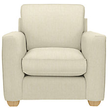 Buy John Lewis Walton Armchair, Odney White Online at johnlewis.com