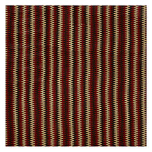 Buy John Lewis Ezela Rib Fabric, Red Online at johnlewis.com