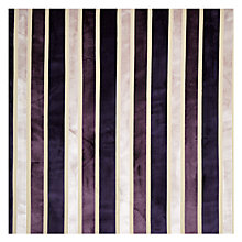 Buy John Lewis Velvet Stripe Fabric Online at johnlewis.com