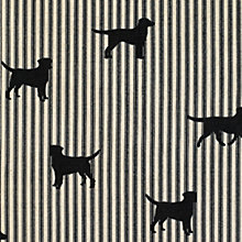 Buy Emily Bond Labrador Fabric, Black Online at johnlewis.com