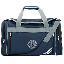 Buy Ibstock Place School Sports Bag, Navy Blue Online at johnlewis.com