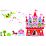 Buy Janod Magneti'stick Princess Castle Wall Sticker Online at johnlewis.com