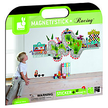 Buy Janod Magneti'stick Racing Wall Sticker Online at johnlewis.com