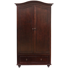 Buy Silver Cross Dorchester Wardrobe, Dark Cherry Online at johnlewis.com