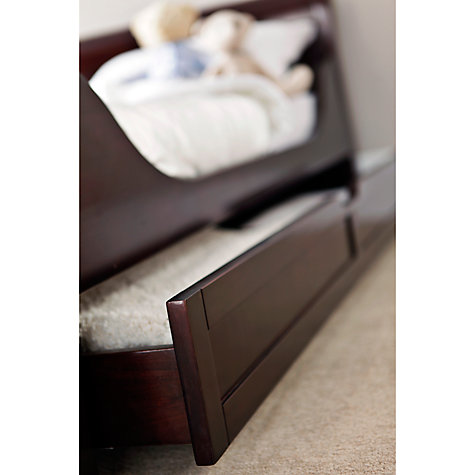 Buy Silver Cross Dorchester Cot Bed, Dark Cherry Online at johnlewis.com
