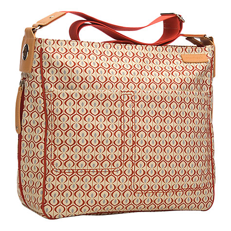 Buy Storksak Suzi Kasbah Changing Bag, Red Online at johnlewis.com